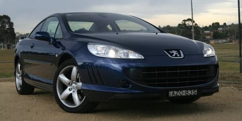 2007 Peugeot 407 Coupe Road Test