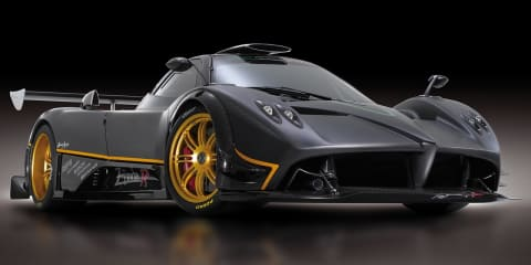 2009 Pagani Zonda R official images