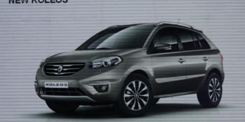 2012 Renault Koleos facelift on sale in Australia late-2011