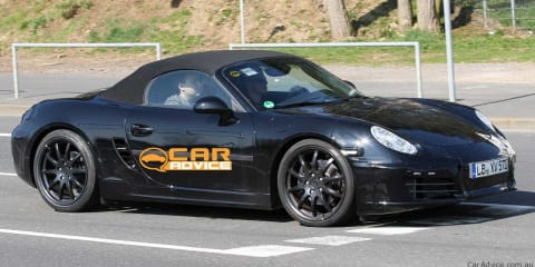 Porsche Boxster Spy Photos