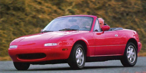 Mazda's MX-5 celebrates its 20th birthday