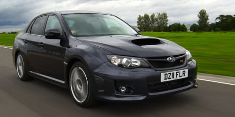 2011 Subaru WRX STI 320R: 0-100km/h in 4.9 seconds