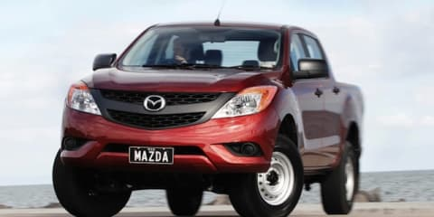 Mazda BT-50: new models, more equipment