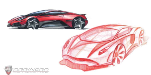 Arrinera supercar: all-new design sketches