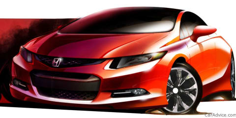2012 Honda Civic Concept sketch released