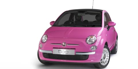 2010 Fiat 500 Pink released