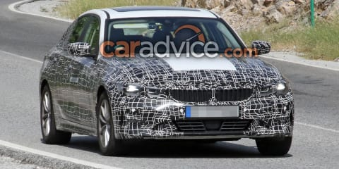2020 BMW 3 Series 'Electric' spied