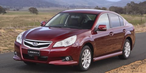 2010 Subaru Liberty and Subaru Outback six-speed manual recall
