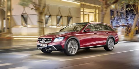 2017 Mercedes-Benz E-Class All-Terrain revealed ahead of Paris debut: Rugged wagon due second half of 2017