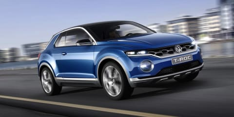 Volkswagen T-Roc : baby SUV concept set for 2017 production