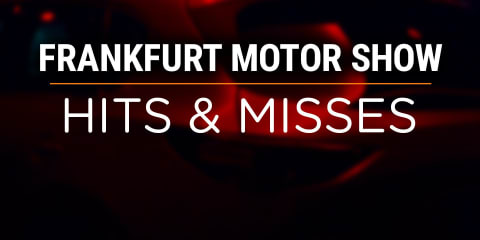 2017 Frankfurt motor show: Hits and misses
