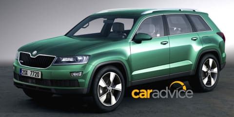 Skoda seven-seat SUV here in early 2017