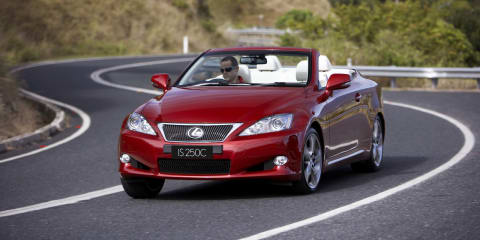 Toyota recalls 1.75m vehicles around the world : 10,800 Lexus IS, GS, LS models affected in Australia