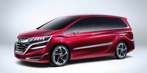 Honda Concept M: China-bound MPV revealed in Shanghai