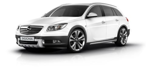 Opel Insignia CrossFour not for Australia yet