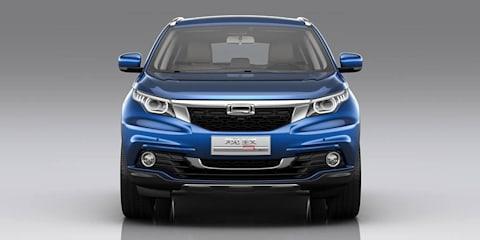 Qoros 5 SUV revealed