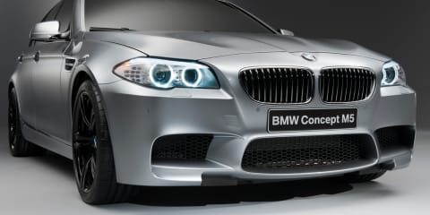 2012 BMW M5 previewed in Shanghai Auto Concept M5
