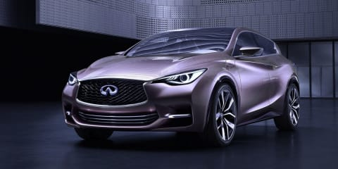 Infiniti QX30 : Nissan to build compact SUV in the UK, export to the world