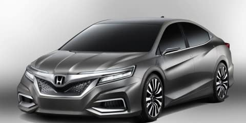Honda Concept C: Chinese sedan inspired by dragon