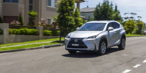 2015 Lexus NX200t v Mazda CX-5 Akera AWD :: Comparison Review