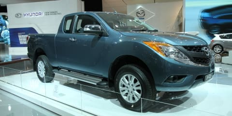 2011 Mazda BT-50 Freestyle Cab at Australian International Motor Show 2011