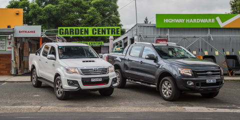 Ford Ranger v Toyota HiLux: Australia's definitive new motoring battle