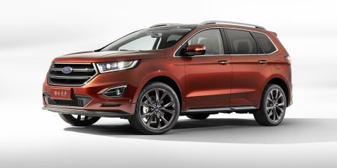 Seven-seat Ford Edge unveiled in China