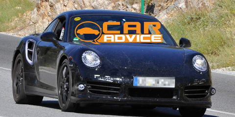 New Porsche 911 Turbo S spy shots