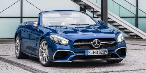 2016 Mercedes-Benz SL facelift leaked online