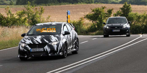 Honda Civic Type-R: next-gen hot-hatch spied on road, track