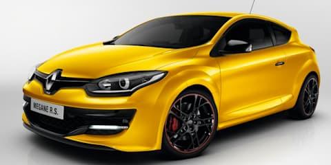 Renault Megane RS265 #under8 model set for production special edition