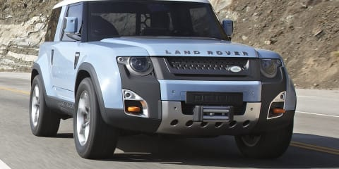 Land Rover DC100 concept revised with greater off-road focus