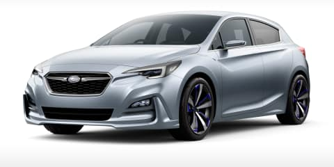 2016 Subaru Impreza in Australia by December