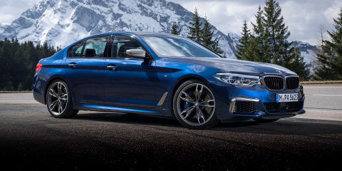 2017 BMW M550i xDrive quick drive