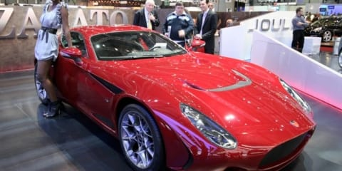Zagato Perana Z-One at Geneva Motor Show