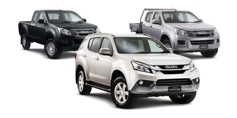 Isuzu Ute Australia adds new D-MAX, MU-X 4x2 models: Ute range expands to 25 variants