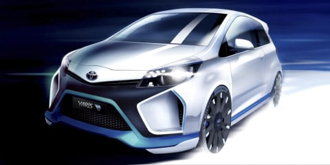 Toyota Yaris Hybrid-R concept: 300kW Le Mans-inspired hatch