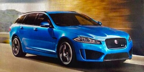 Jaguar XFR-S Sportbrake: 404kW super station wagon leaked