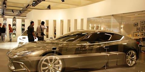 Lotus Eterne at LA Auto Show