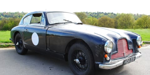 Aston Martin DB2/4 'barn find'