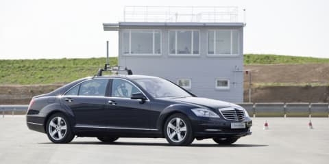Mercedes-Benz uses automated driving for safety tests