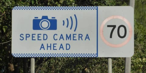 Mobile speed camera warning signs need to go, says NSW Auditor General