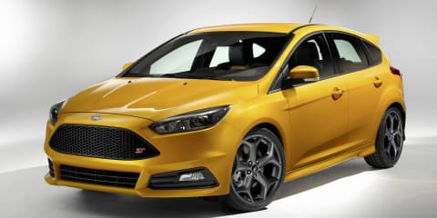 2015 Ford Focus ST revealed