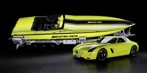 Mercedes-Benz SLS AMG Electric Drive inspires 1656kW powerboat
