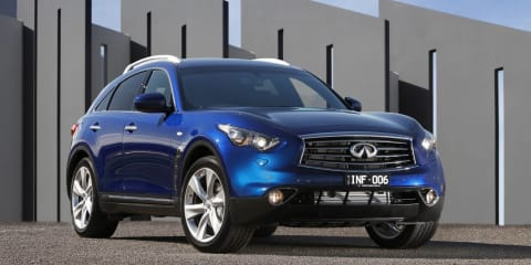 "Infiniti Australia sales ""not sustainable"", says global boss"