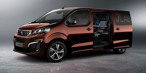 Peugeot Traveller i-Lab concept revealed for Geneva motor show