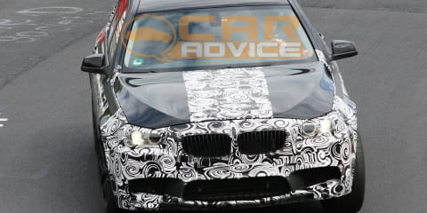 2011 BMW M5 prototype shows off its brake package