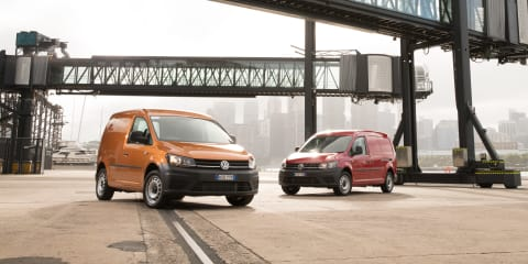 2017 Volkswagen Caddy gets collision-avoidance tech as standard kit for Australia