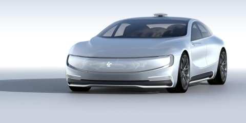 LeEco LeSee electric sedan revealed for Beijing motor show