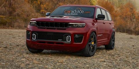 2024 Jeep Grand Cherokee L Trackhawk imagined